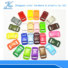 Yikai Factory wholesale plastic side release contoured strap small buckles for bag parts