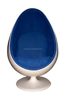 Fiberglass modern cheap egg pod chair