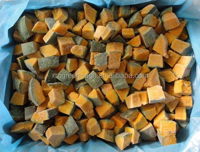 HOT SALE frozen pumpkin cube with High Quality