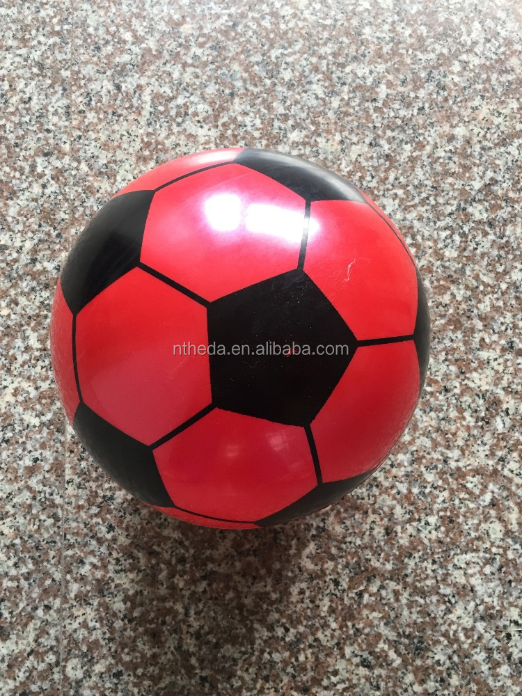 plastic printed inflatable pvc ball play ball