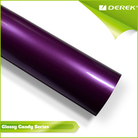 Hot Sale Glossy Candy Purple Colored