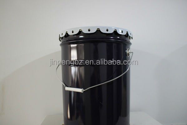 5 US gallon round metal pail for paint