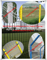 pvc coated welded garden wire mesh fence (factory 10 years)