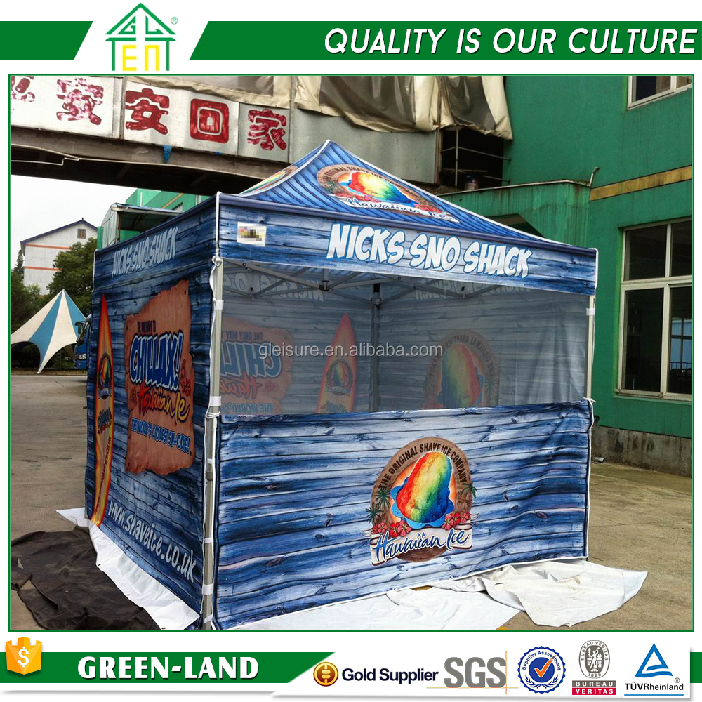 Printed canopies folding advertisement event stand up tent