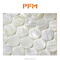low price beautiful white sea shell mosaic mother of pearl shell mosaic tile