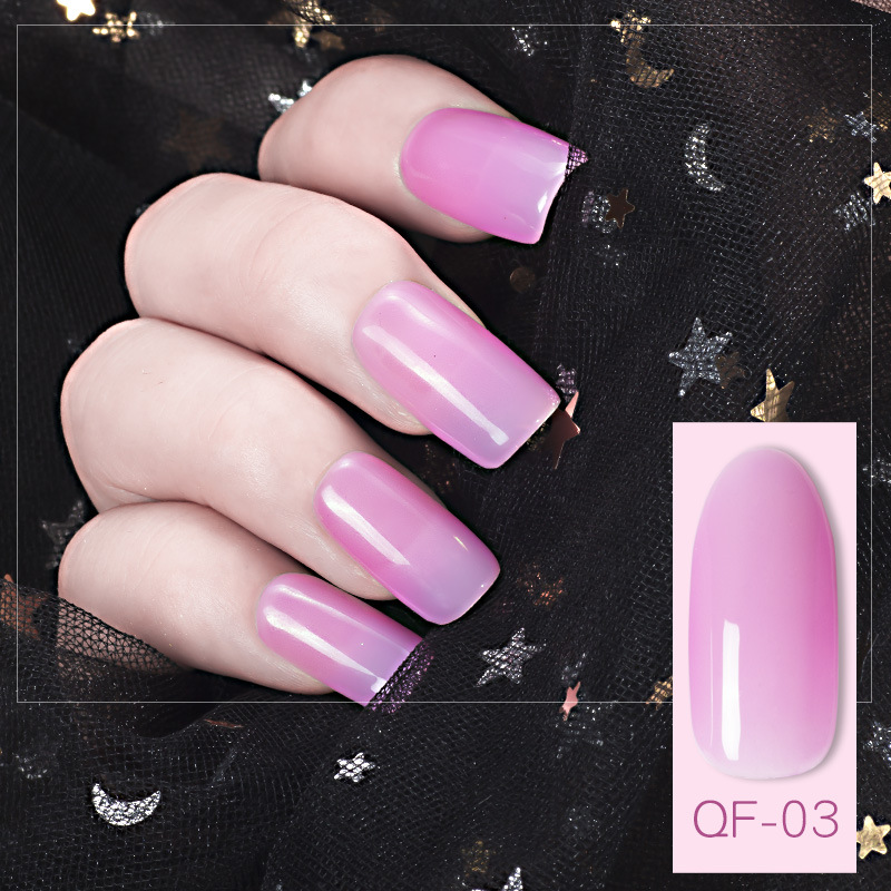 2018 hot Factory supplier global fashion no light color gel nail polish without UV light for nails