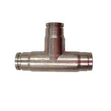 Anti-drip high pressure fog nozzle Tee connector of pipe