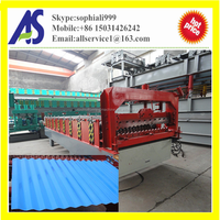 13-65-850 corrugated profile roof panel roll forming machine