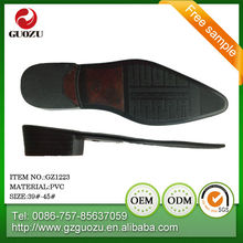men pvc shoe sole factory looking for sole distributor