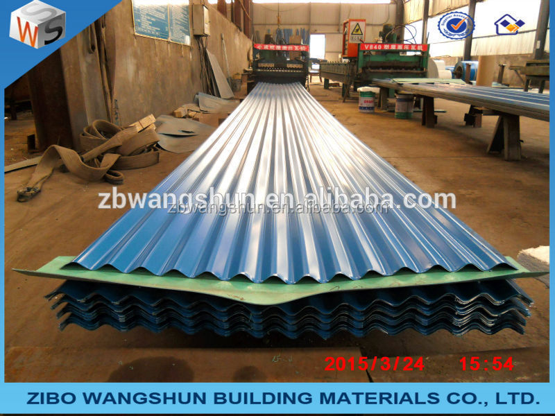 Color Steel Roof Ridge Cap Popular with Prepainted Steel Roof Sheet