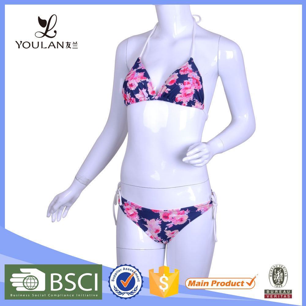 Hot Selling OEM Polyester Brazilian Children Sexy Bikini