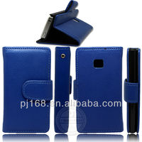 flip Leather cover case for lg optimus l3 e400