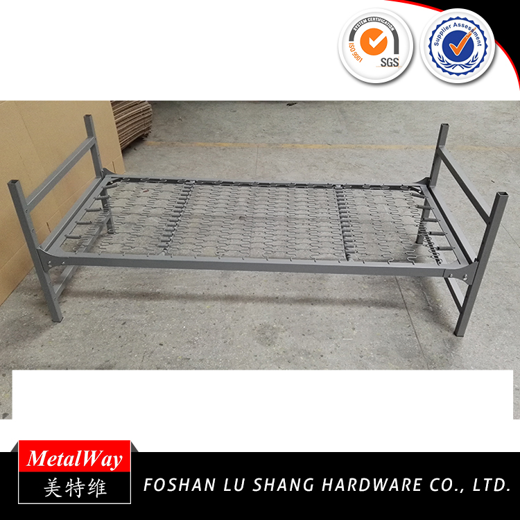 Manufacture customized round tube adjustable bed frame