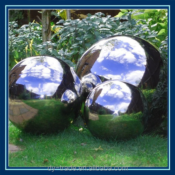 SUS stainless steel garden decoration ball