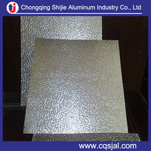 Diamond / stucco embossed 0.3mm roll aluminum sheet for decoration ,roofing ,insulation