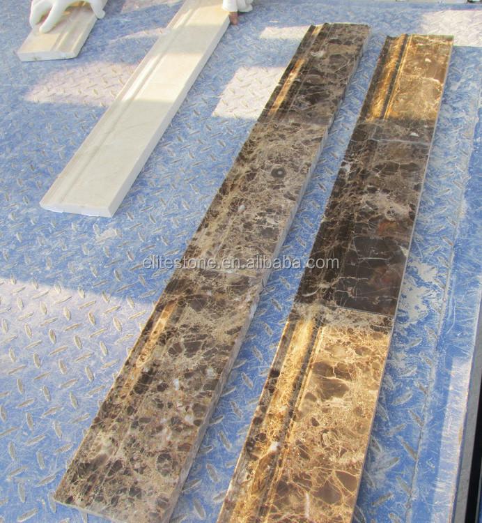 6841-A8 falso mármol moldeado decoración para pared carril de la ...