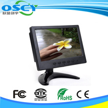 1080p 7 inch lcd monitor with HDMI