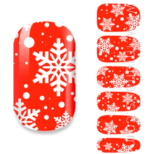 Vinyl Material 2017 Personal Manicure Prduct Christmas Nail Art
