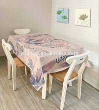 printed silicone table cloth