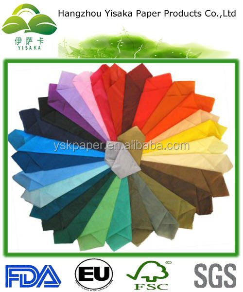 All Color MG tissue paper for wrapping clothes, gifts, food