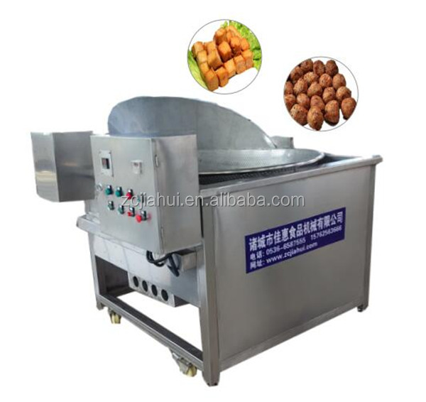 Automatic oil-water mixture fryer