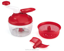Multifunctional Salad Maker Plastic Vegetable Salad Spinner Plastic Food Processor with Vegetable Cutter