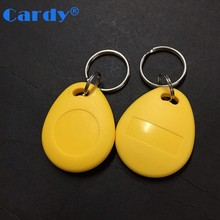 Passive programmable RFID key card tags NFC keyfob for door entry system