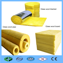 Waterproof Glass Wool Fireproof Insulation board/pipe/blanket Price