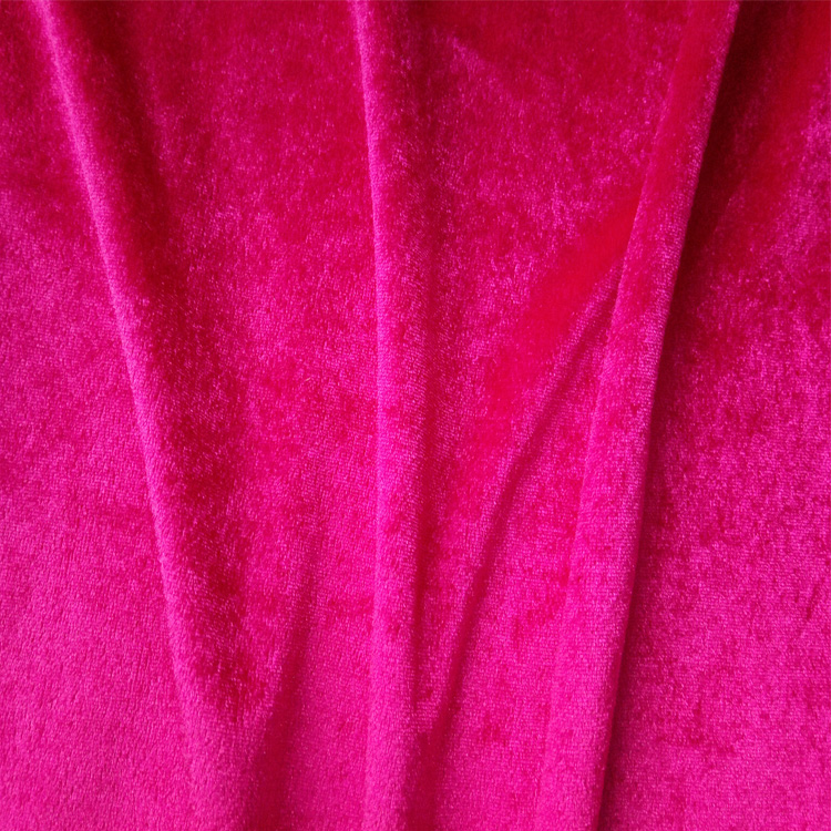 Yarn dyed different colour top quality shiny panne silk velvet fabric with silky feeling