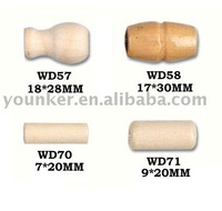 Barrel Shape Naturel Wooden Beads