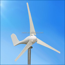 Hot selling mini 12V/24V 200watt magnetic wind power generator for home