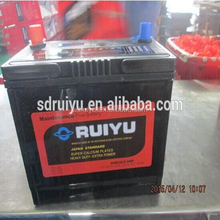 NS60L SMF Sealed maintenance free lead acid car battery used cars for sale