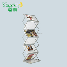 high quality magazines and newspapers rack plexiglass