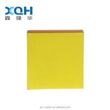 China supplier best quality planar colorful rubber sheet