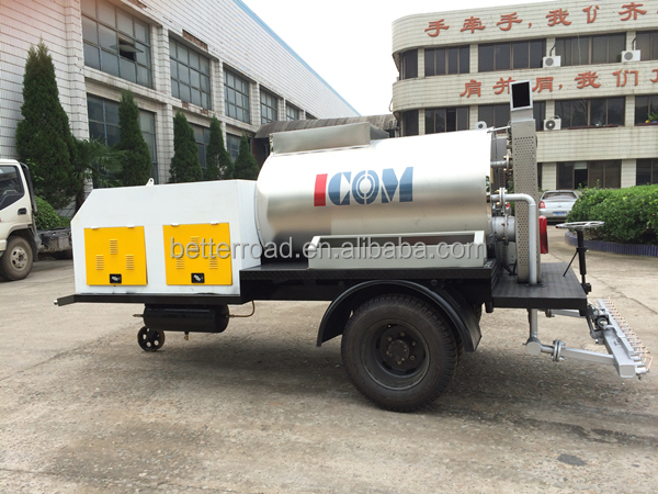 ZMTS-25 Trailer Asphalt Machine bitumen sprayer