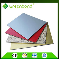 wood aluminum plastic composite wall panel sheet for outdoors outside decoration