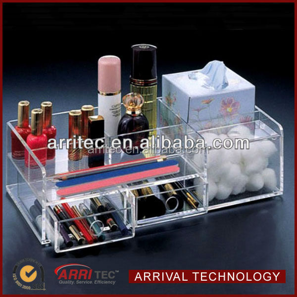 custom acrylic lipstick holder acrylic cosmetic display tray