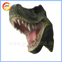 Dinosaur mounted animal head for home decoration