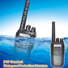 TID TD-V90 handheld 400-470mhz 136-174mhz uhf vhf IP67 waterproof 5w two way radio cheap kyd radios
