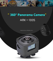 360 degree 4K wifi waterproof action sport camera , video camera with wifi