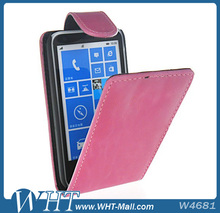Leather Case For Nokia Lumia 620 Flip Cover Skin