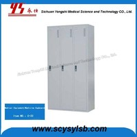 Wholesale cheap Metal Clothes storage cabinet steel almirah for sale