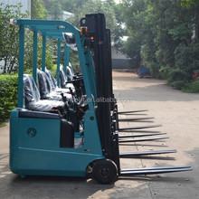 Electric power 3 wheel cheap forklifts / battery operated pallets fork lift forklift control valve