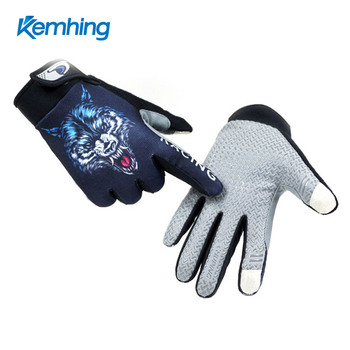 Upgrade Gloves Men Women Windproof Breathable Touch Screen Snowboard Gloves Outdoor Sports full finger racing glove