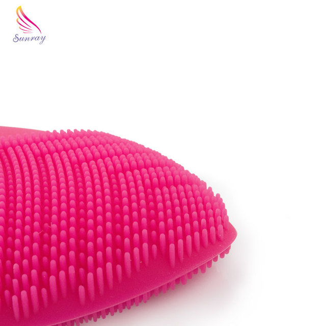 China Suppliers Private Label Facial Brush Beauty Improved Smoother Complexion Silicone Facial Cleaning Brush