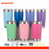 20oz 30oz Colorful Powder Coated Insulated Stainless Steel Tumbler