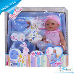 Intellegent Drinking Plastic Toilet Doll Toy Baby for Kids