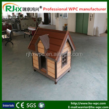 The best material of making pet house by wood plastic composites