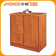 Customised Wood Cabinet Small Chest Drawer For Under Table Use