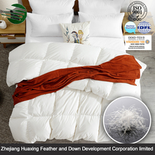 Customized Type New Product Adults Cotton Fabric White Duck Down Filling Bedding Duvet